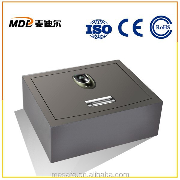 Office Use Side Led Light Fingerprint Safe Box
