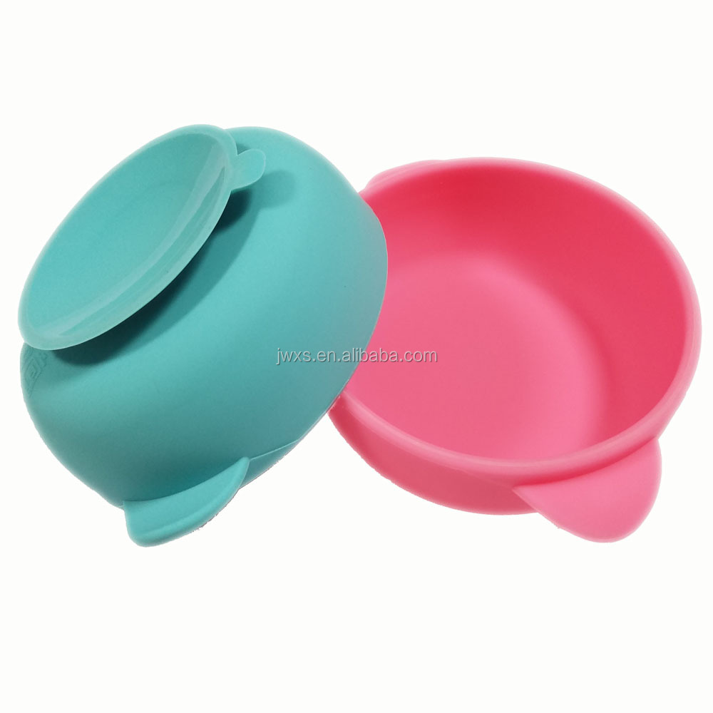 Baby Food Bowl Suction,Baby Feeding Bowl,Baby Placemat Bowl Baby Cereal Bowl Set