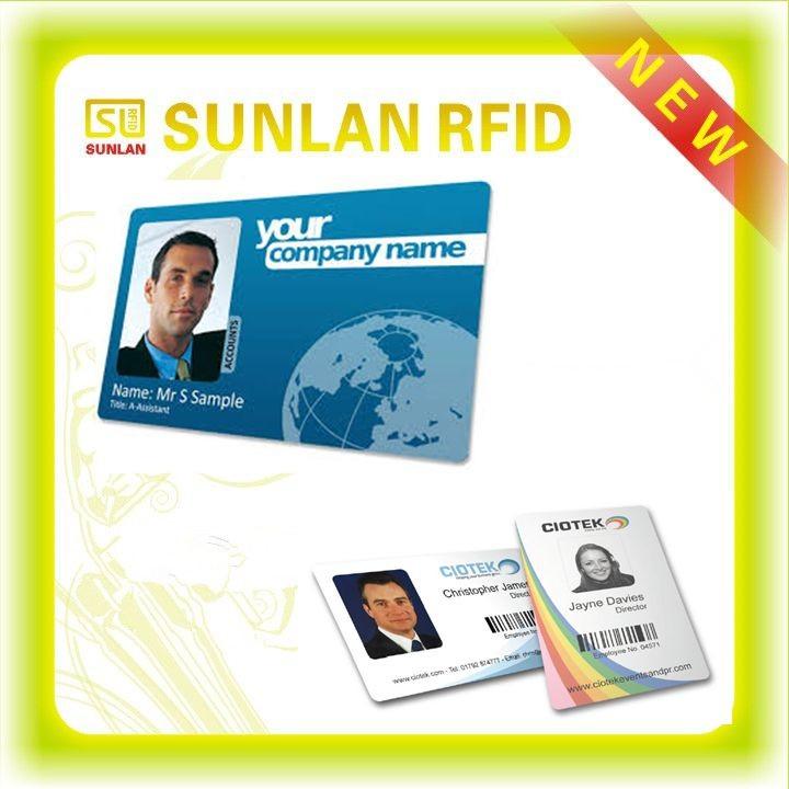 Tk4100/em4100 Printing Plastic Rfid Police Id Card ...