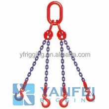 Adjust Length two legs Chain Sling with Master Link made in China