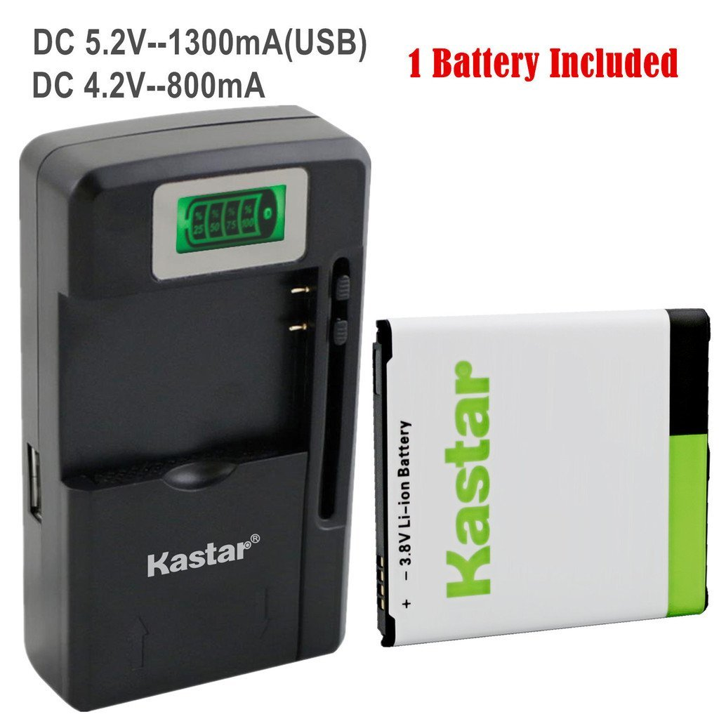 Kastar Galaxy S4 Battery (1-Pack with NFC) and intelligent mini travel Charger ( with high speed portable USB charge function, not NFC capable) for amsung Galaxy S4, S IV, I9505, M919 (T-Mobile), I545 (Verizon), I337 (AT&T), L720 (Sprint), EB-B600BUB, EB-B600BUBESTA --Supper Fast and from USA