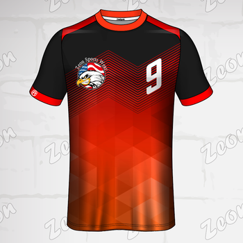 factory custom red eagle design Plain Men's t shirts polyester sublimated Comfortable t shirts