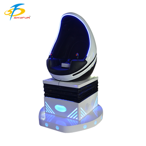 9d vr egg shell one seat egg chair leader game 9d reality vr cinema luxury fiberglass seats for vr