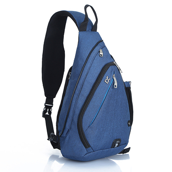 Side Bags For College Custom Logo Men Business Cross Body Messenger Sling Bag School With Charging Port Crossbody