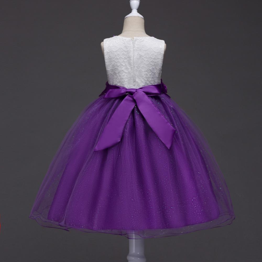 Más el tamaño del vestido de partido del bebé de la princesa vestido ...