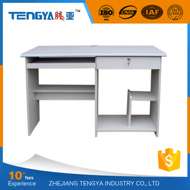 Simple Office Furniture Melamine Board Low Price Computer Desk