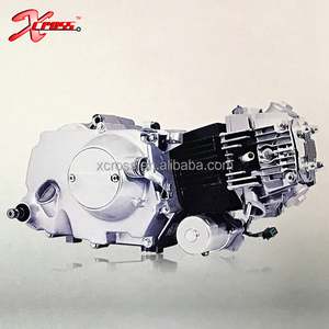 Chinese Cheap 50cc/70cc/90cc/100cc/110cc Motorcycle Engine Motor  Electric/Kick start Automatic Clutch 4 gears down starter