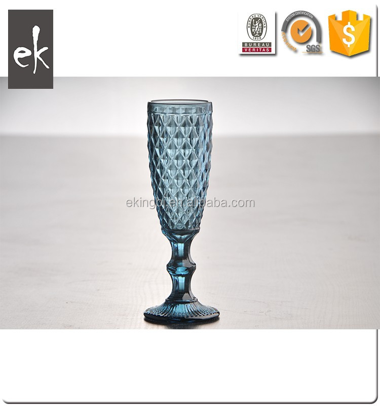 High Quality Wholesale Cheap Colored Wine Glasses Goblet