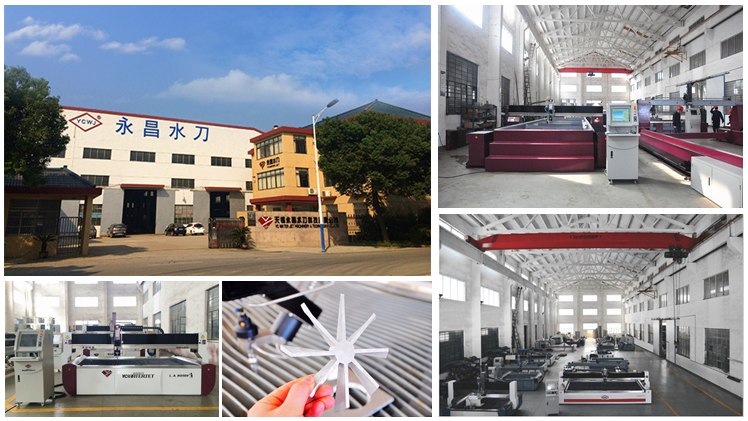 The water soften system for waterjet cutting machine made in WUXI