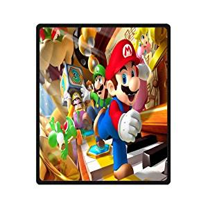 34a39d0bc4 Get Quotations · Innovation Personalized Fashion Design Custom Anime Super  Mario Bros Blanket Indoor and Outdoor Fleece Blanket Sofa
