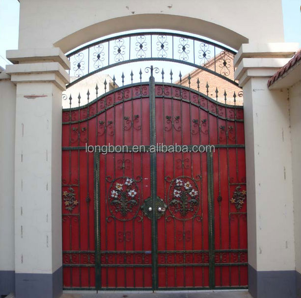 Top-selling Modern Iron Pipe Gate Design