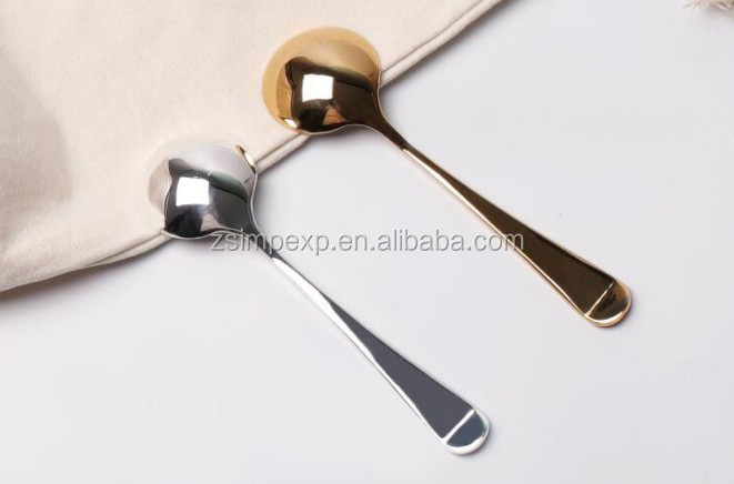 Stainless steel coffee cupping measuring spoons
