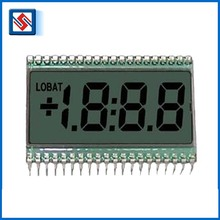 Monochrome Energy Meter Lcd Display Custom Segment Lcd Screen 4 Digit Lcd Display Panels for Instrument