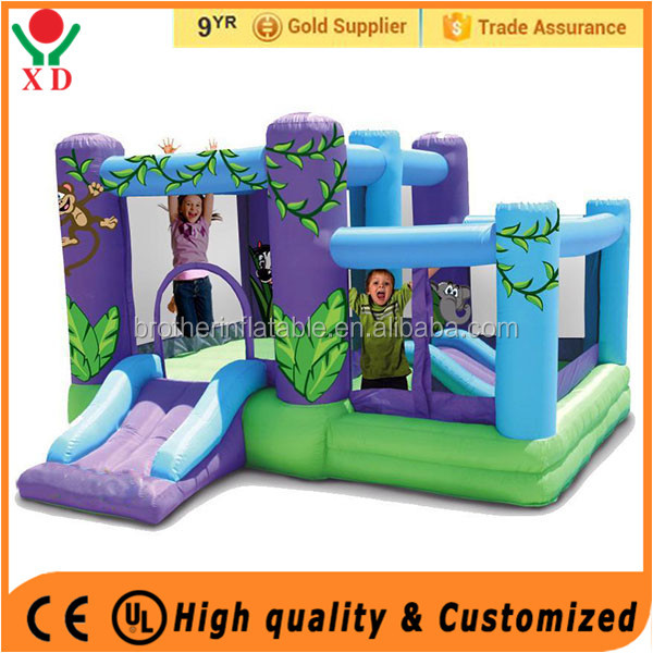 Cheap price inflatable bouncer Inflatable bouncing toys bounce city for selling