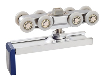 Heavy duty sliding door tracks and rollers car video recorder front and rear