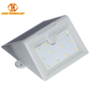 Free Samples Outdoor IP65 ABS 5w 10w Power Energy System 12 LED Solar wall light