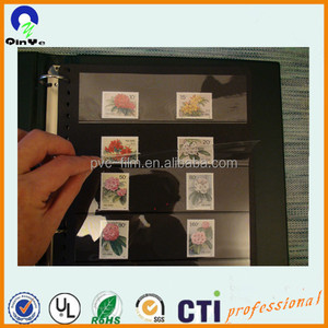 pvc sheet collect stamp album