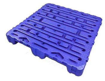 Heavy duty mold blow plastic pallet