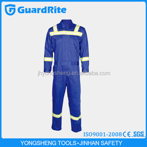 GuardRite Brand Fire Retardant Working Coverall , Reflective Fire Retardant Safety Coverall ,Working Safety Coverall