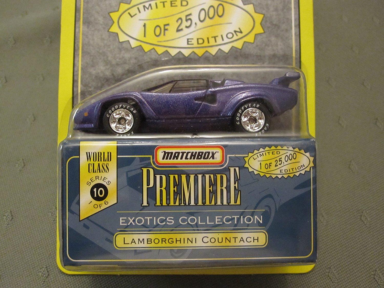 Lamborghini Countach Matchbox Premiere Series 10 #34313