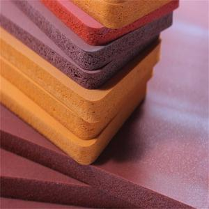 Silicone Foam Sponge Rubber Hot Stamping for Garments Making