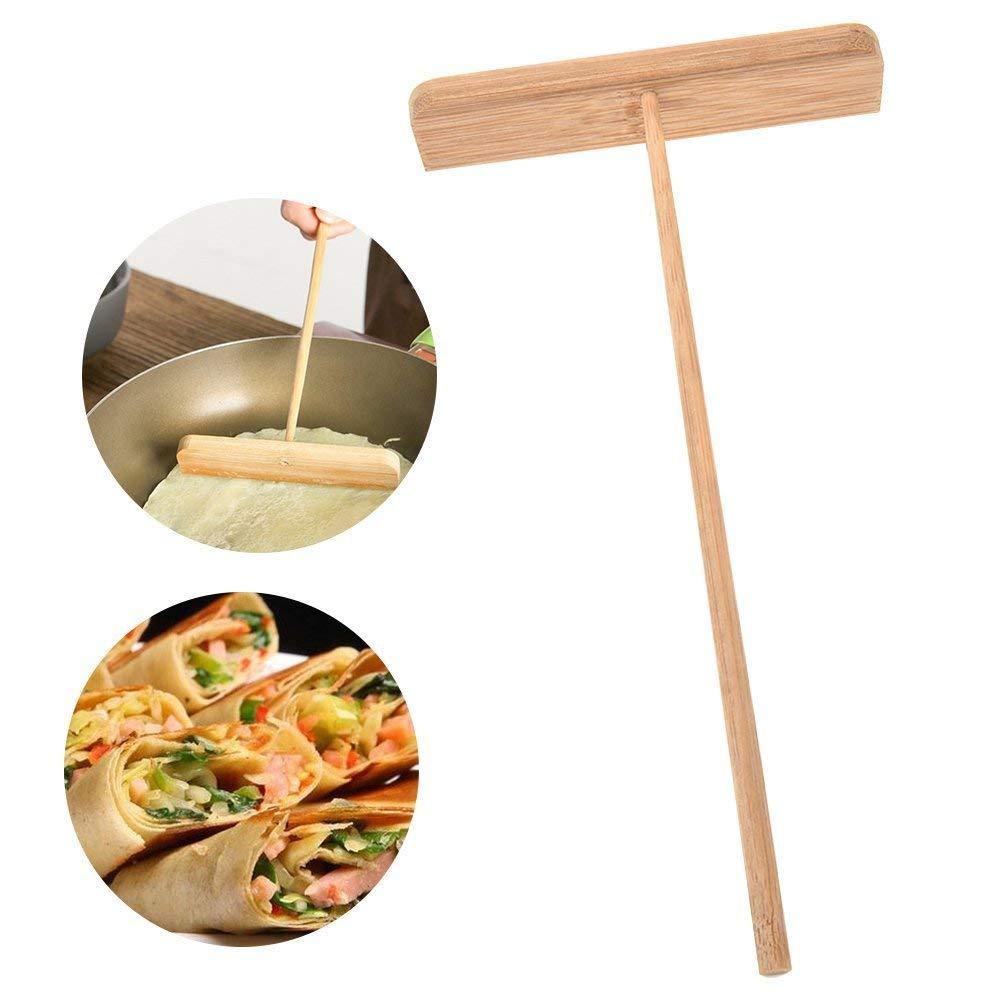 Wooden Rake Wooden Rack Spreader Pancake Batter Spreader Crepe Spreader DIY Kitchen Tool