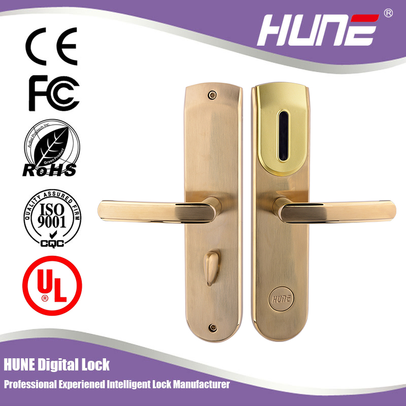 advanced electronic hotel lock with pro usb card system