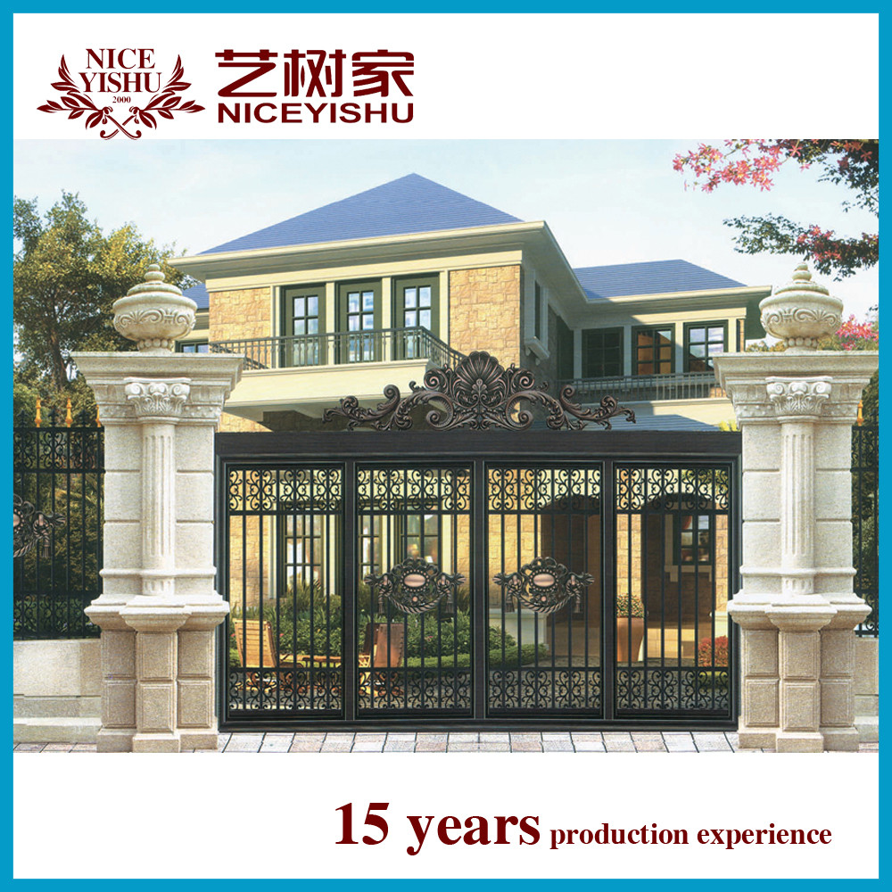 New Wholesale Luxury Decorative Entrance Gate Grill Designs Home / Alibaba  Used Laser Cut Wrought Iron