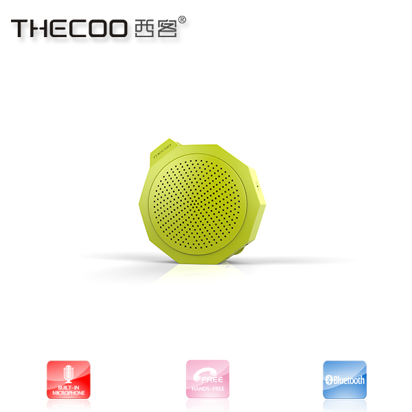 Portable active trolley speaker, waterproof rechargeable mini bluetooth speaker