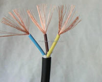 PVC Electric Wire 4 Core 6mm Flexible Cable