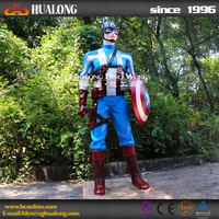 3D High Emulation Cartoon Movie Characters of Captain America