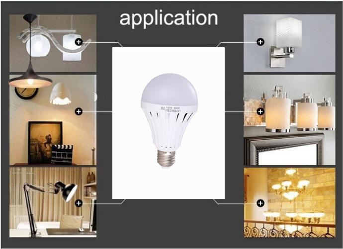 Smartly Light On 6-8 Hours Lighting B22 E27 Led Bulb 9watt ...