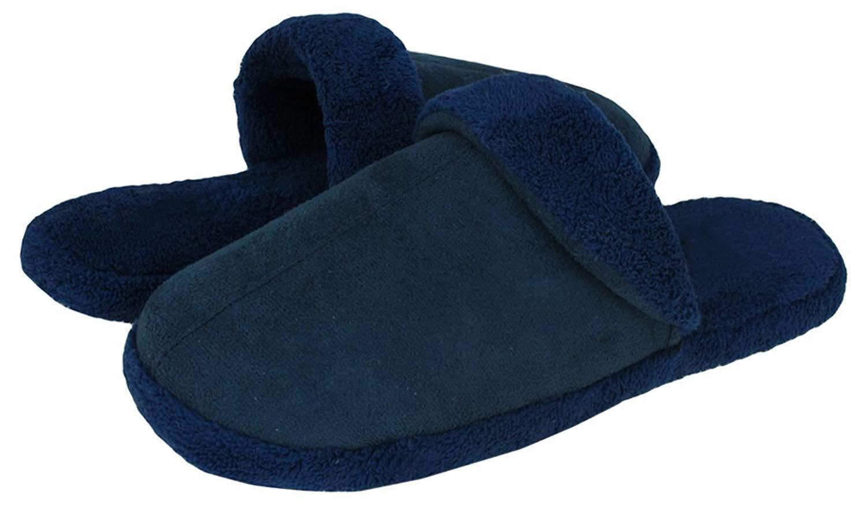 Capelli New York Scuff With Microcozy Lining Cuff Sock & Midsole Boys Indoor Slipper