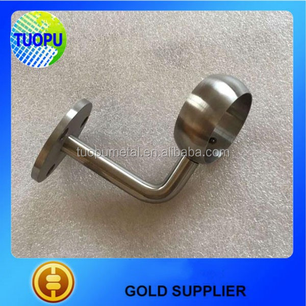 Hot Sale Stainless Steel 316/304 Stair Handrail Mounting Bracket,railing  Circle Tube Handrail