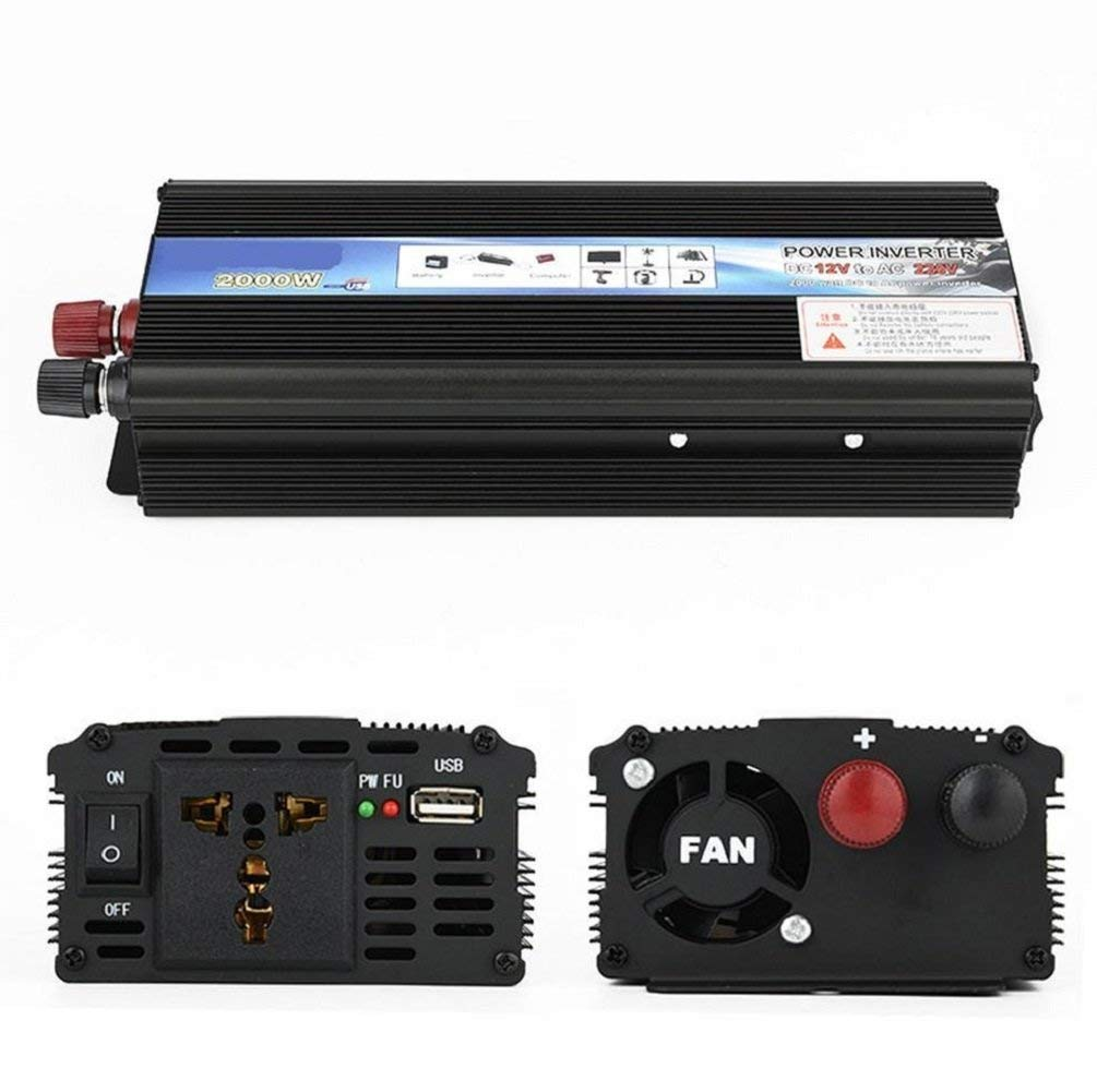 Cheap 220v Inverter Circuit Diagram Find 12v Dc To Ac With Battery Charging Function Get Quotations Car Power Low Solar Converter Tablets And Phones 2000w 24v
