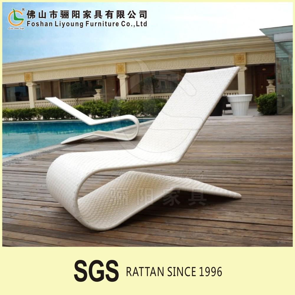 Moderne outdoor neuesten design hochwertiger pe kunststoff rattan ...