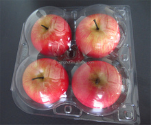 Popular style packaging box clear plastic fruit box