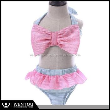273408d676 Wholesale Monogrammed Kid Seersucker Swimsuit - Buy Seersucker ...