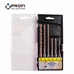 6Pcs PGM certificated auto copper soldered sds concrete drill bits