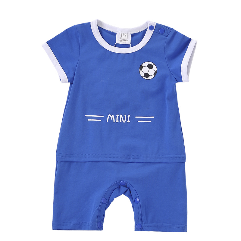 Audel Cotton Baby Bodysuits Sport Clothes Football Romper