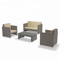 Favourable Wholesale KD Rattan Outdoor Furniture Sofa Set