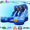 hot sale new inflatable water slide with pool,high quality swimming pool slide water slide