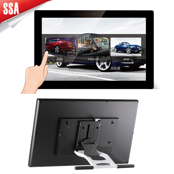 21.5 inch touch screen tablet pc for taxi with fix screws Quad core RK3188 big size tablet PC