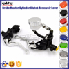 "BJ-LS-006 Dirt Bike with 7/8"" Standard Handlebar 22mm Hydraulic Master Cylinder Clutch Brake Lever"
