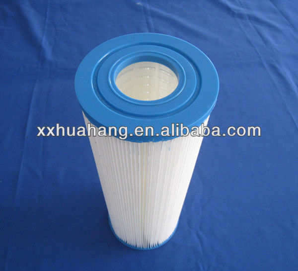 Swimming pool Water filter cartridge pleated filters factory