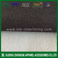 Best quality delta twill woven interfacing for garment dyeing 2014