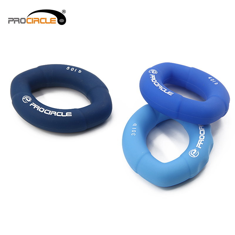 Fitness Training Exercise Round Rubber Massage Hand Exercise Spring Grip