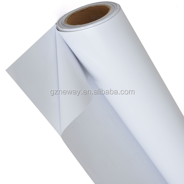 glossy or matt white pvc /semi-removable glue/pvc printing paper