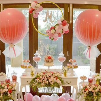 2018 amazon new arrived hot selling wedding party decoration 36inch 2018 amazon new arrived hot selling wedding party decoration 36inch latex balloon tulle balloons junglespirit Choice Image
