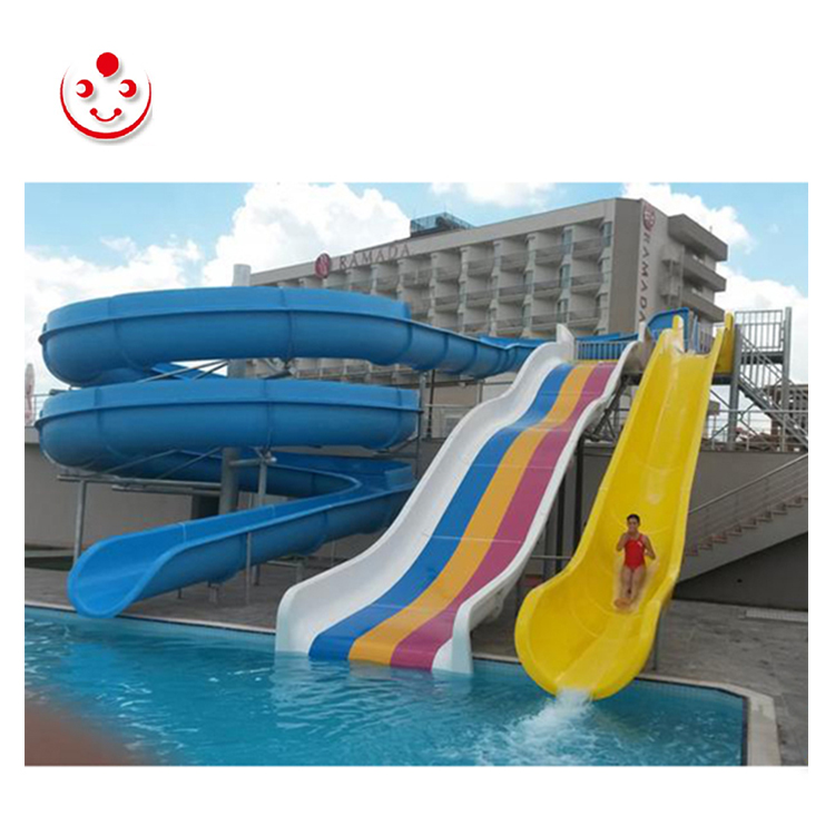 Good Quality Outdoor Spiral Tube Pool Slide for Sale